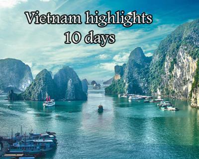 Vietnam highlights 10 days
